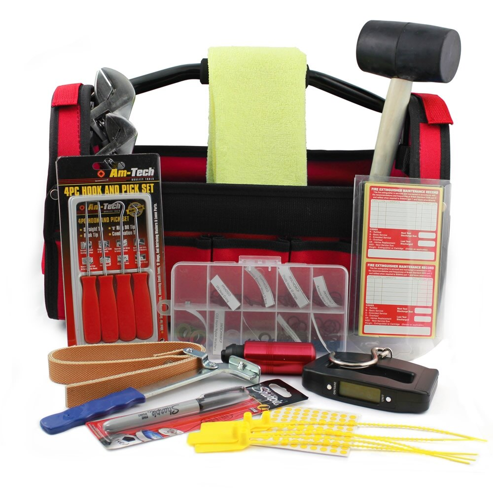 Fire Extinguisher Servicing Engineer's Kit
