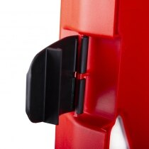 Ergonomic clasps prevent accidental opening and ensure a weatherproof seal