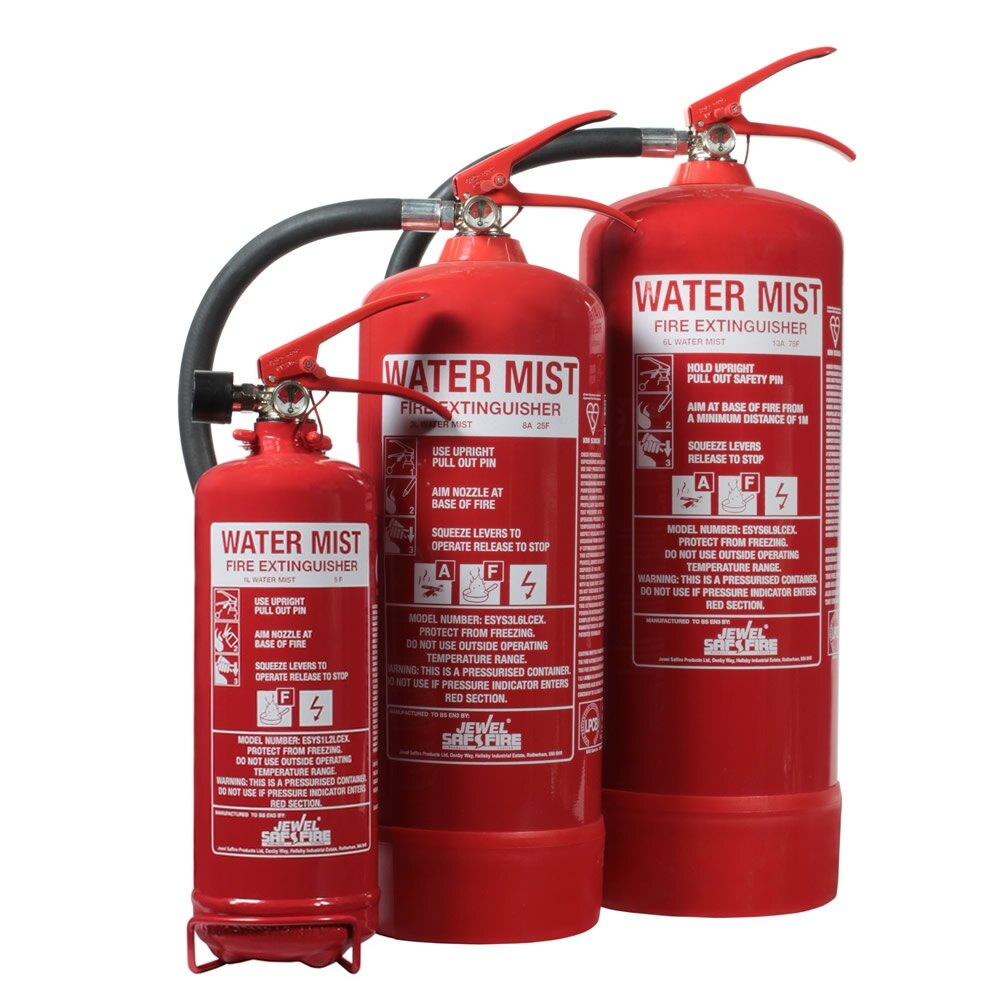 UltraFire Water Mist Fire Extinguishers